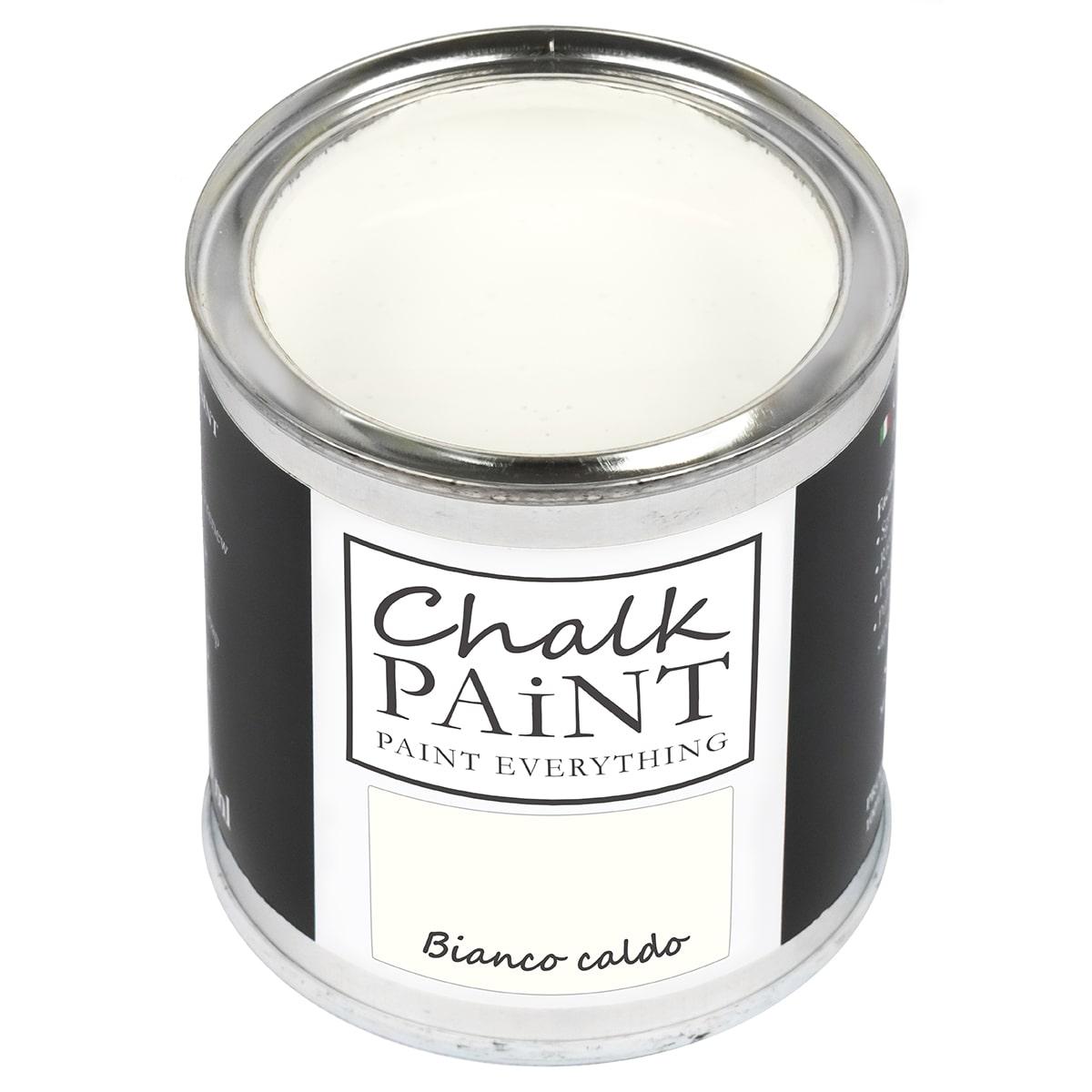Chalk paint bianco caldo