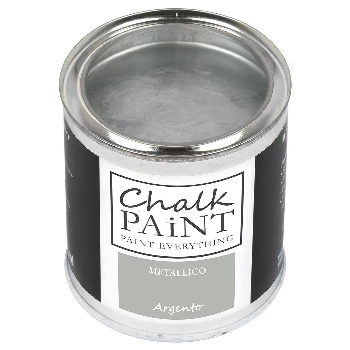 Vernice metallica ARGENTO decora facile con questa paint magic