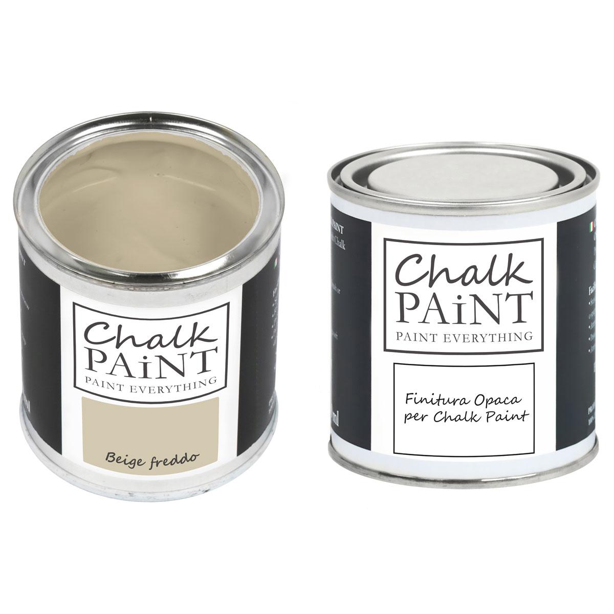 Chalk Paint Beige Freddo decora facile