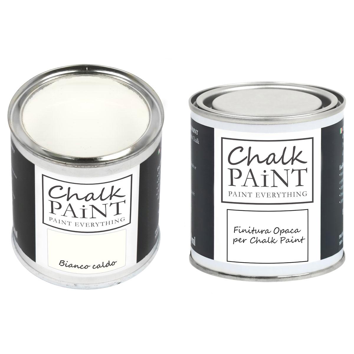 Chalk Paint Bianco Caldo decora facile