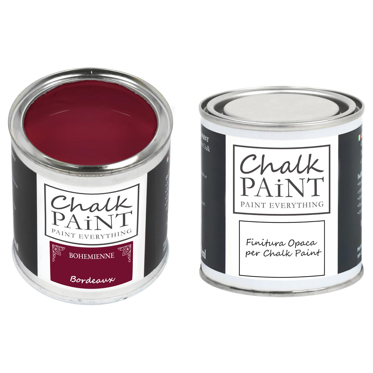 Chalk Paint Bordeaux paint magic