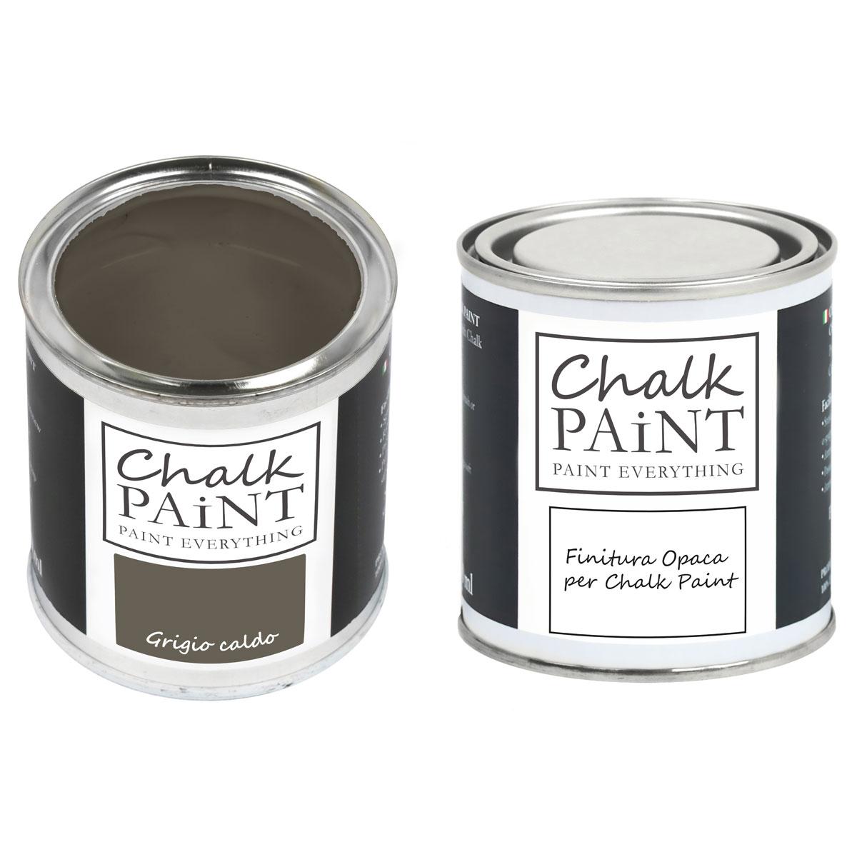 Chalk Paint Grigio Caldo decora facile