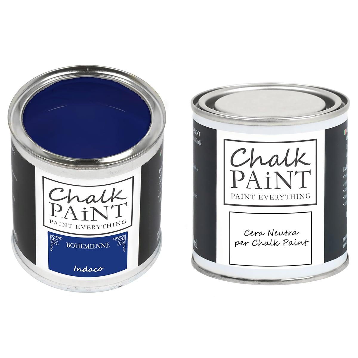 Indaco Chalk paint e cera in offerta decora facile con paint magic