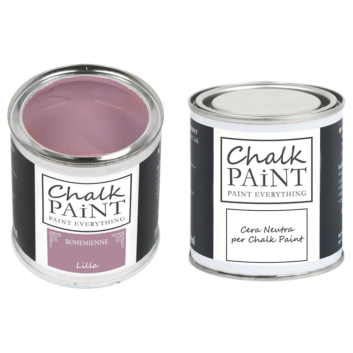 Lilla Chalk paint e cera in offerta decora facile con paint magic