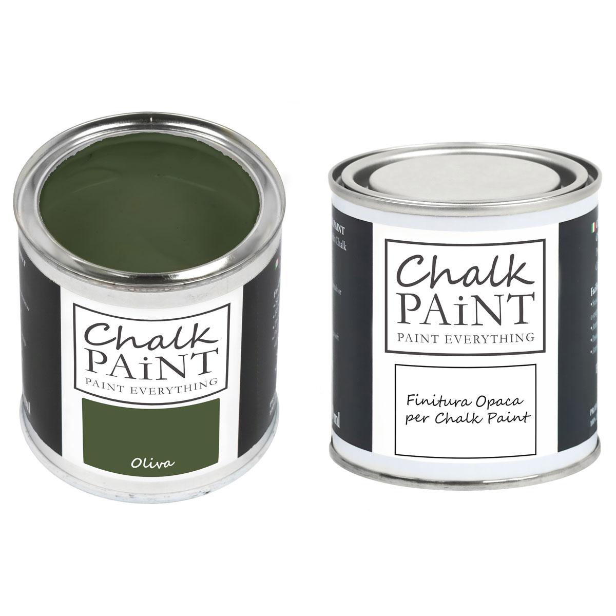 Chalk Paint Oliva paint magic
