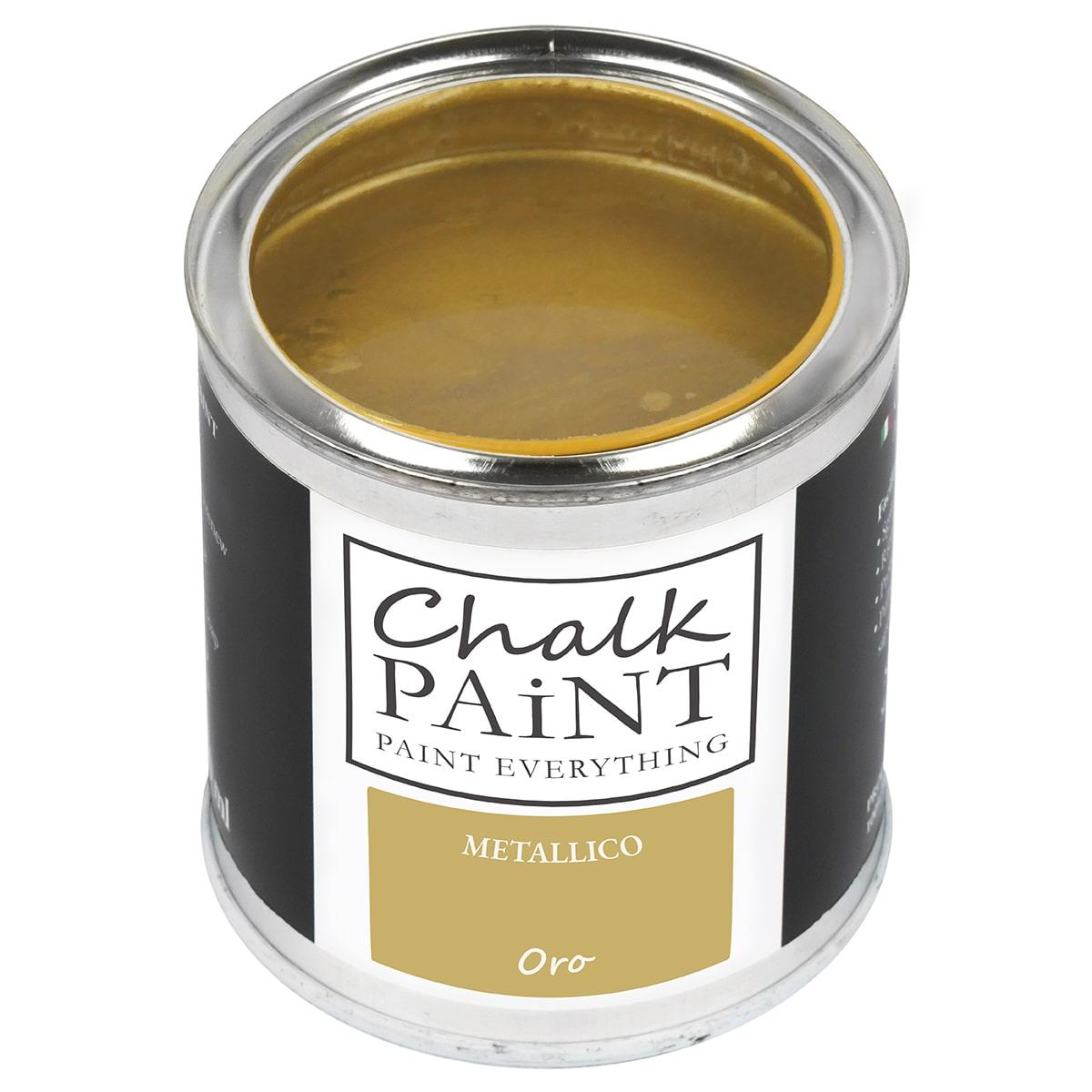 Vernice metallica ORO decora facile con questa paint magic