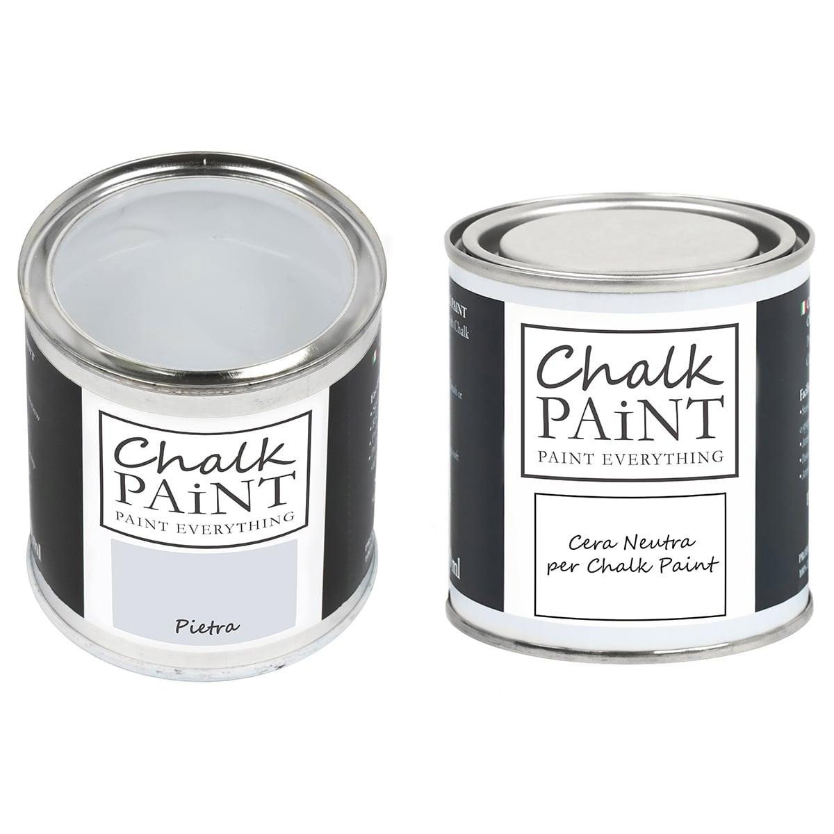 Pietra Chalk paint e cera in offerta decora facile con paint magic