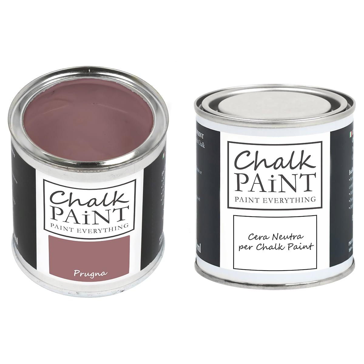 Prugna Chalk paint e cera in offerta decora facile con paint magic