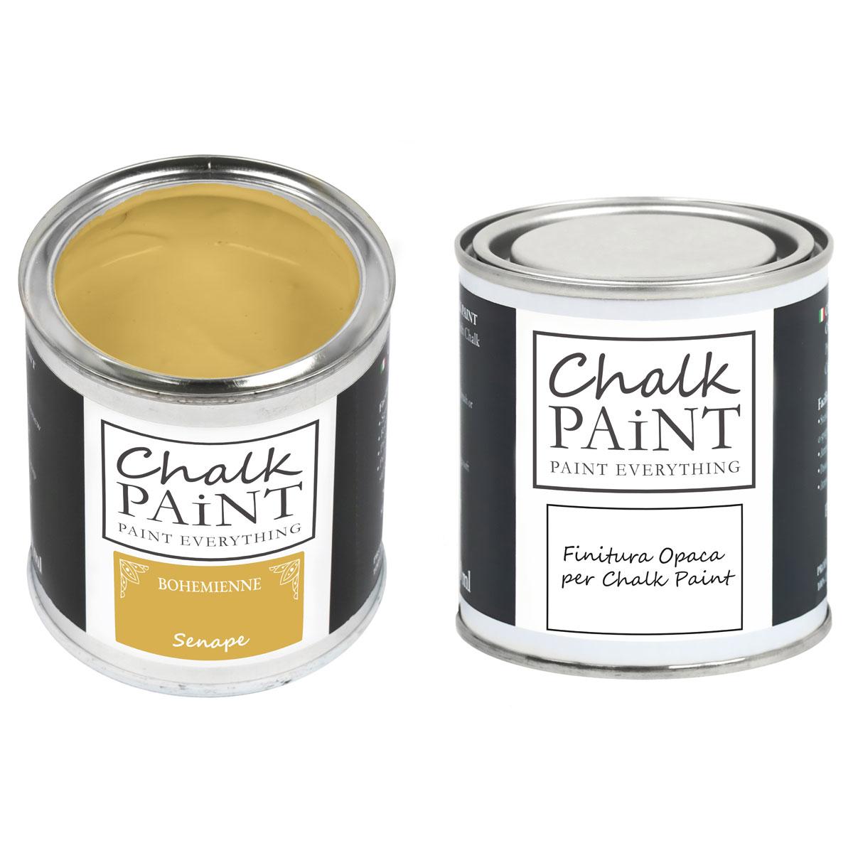 Chalk Paint Senape paint magic