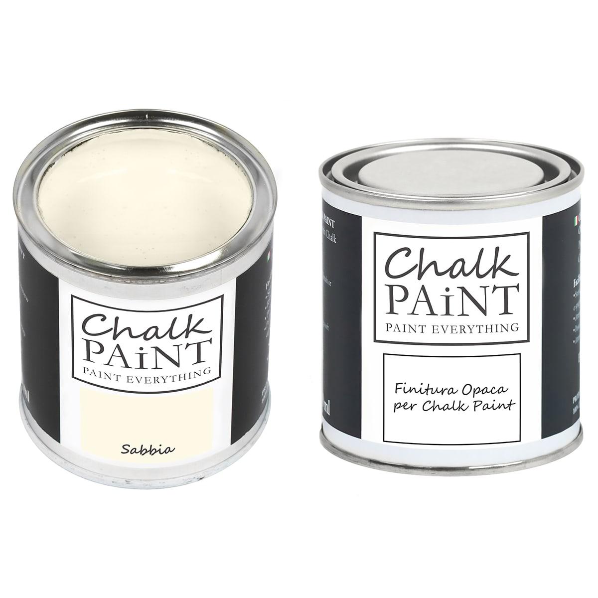 Chalk Paint Sabbia + finitura