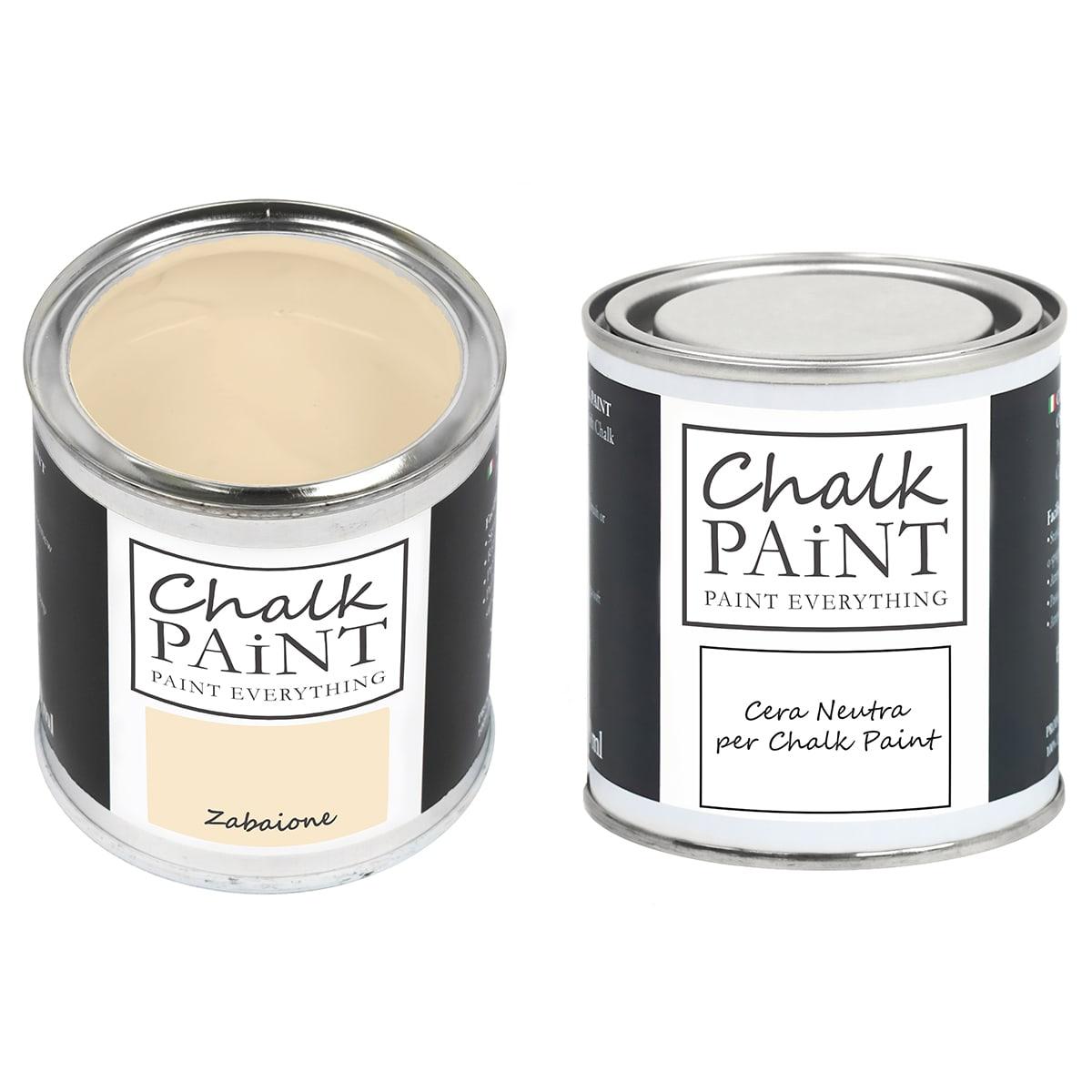 Chalk Paint Zabaione + Cera Shabby