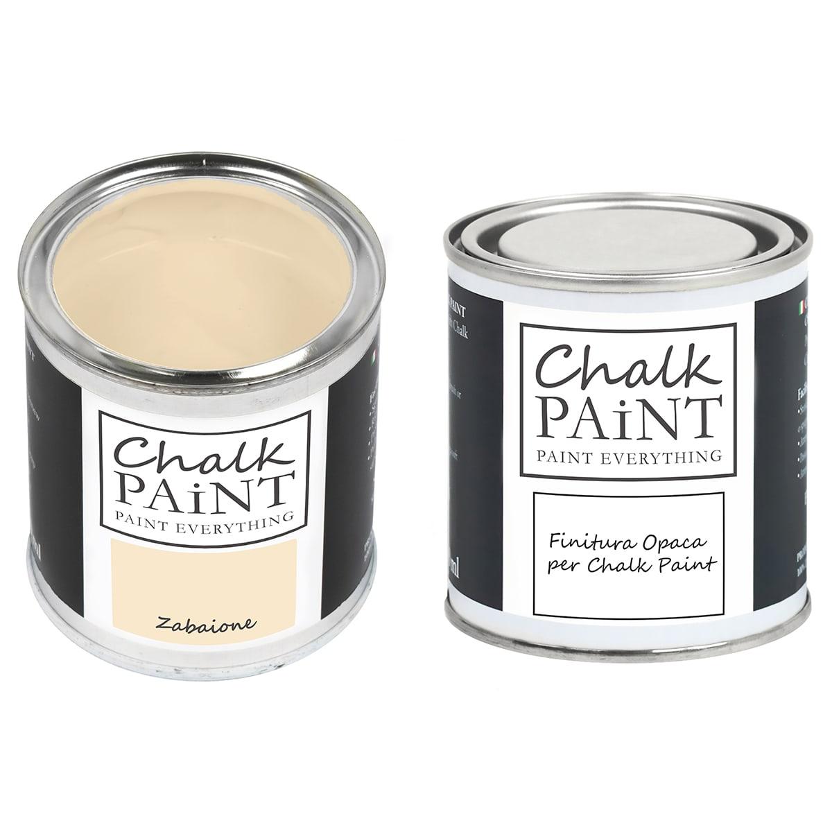 Chalk Paint Zabaione + finitura