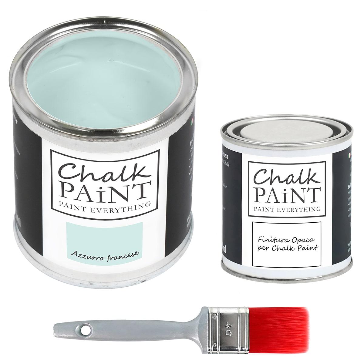 chalk paint Azzurro francese