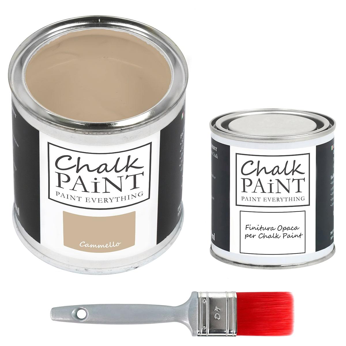 chalk paint Cammello