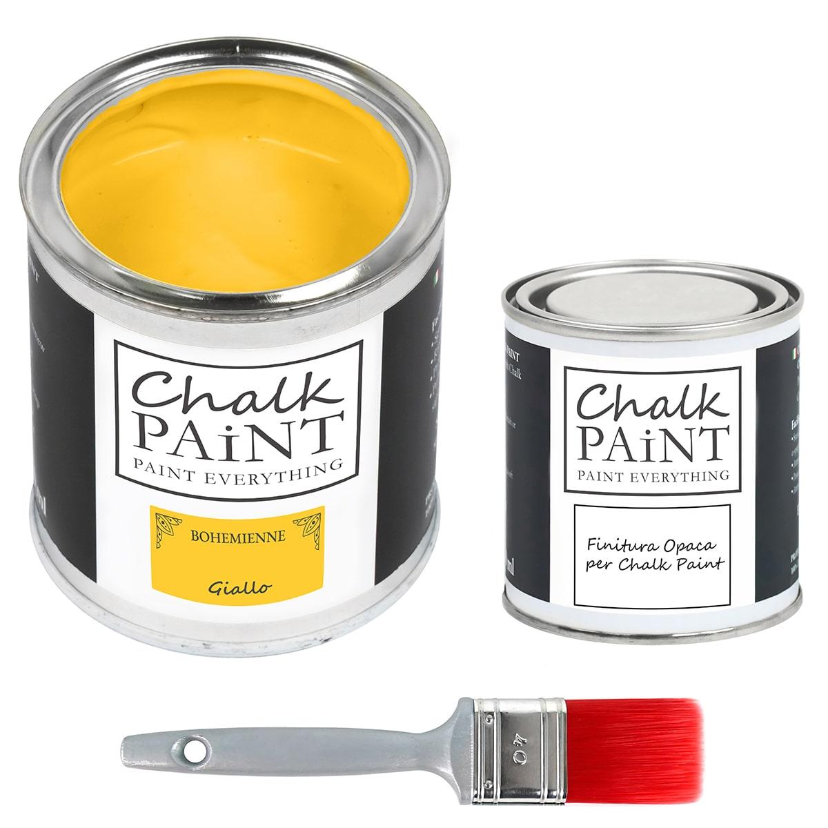 chalk paint Giallo 750 L