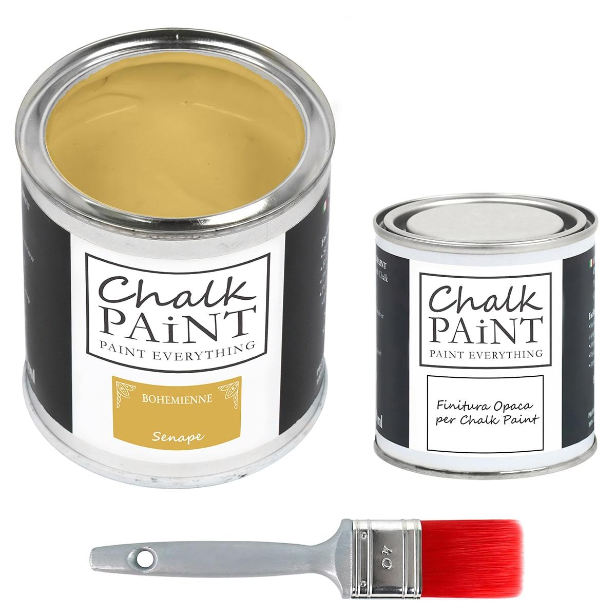 chalk paint senape 750 L